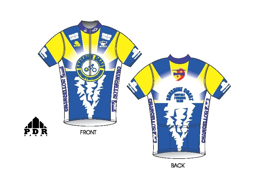 Sunshine Coast Bicycle Touring Club - Club Jersey 8c8623d86
